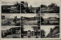 Bad Kösen Sachsen-Anhalt AK ~1940 Rudelsburg Saaleck Saalebrücke Saline Saale
