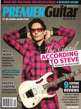 PREMIER GUITAR September 2012 STEVE VAI Reveal The Story of Light Van Halen Gear
