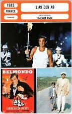 L'AS DES AS - Belmondo,Pisier,Oury (Fiche Cinéma) 1982 - Ace of Aces
