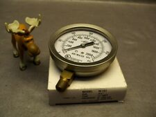 New listing Brc 300Psi Pressure Gauge for Fire Protection Model W101 Air/Water