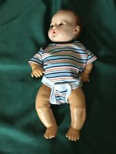 Vintage Effanbee Dy-dee Baby Composition Doll & Jumper-Adorable Brown Hair .
