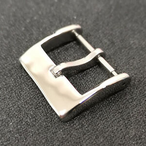 Sugess Stainless Steel Watch Band Pin Buckle Parts Strap Clasp 20 mm