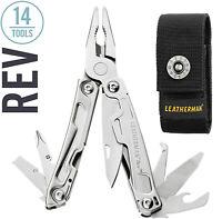 Leatherman - Rev Multi-Tool, Stainless Steel with Standard M Nylon Sheath