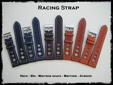 Cinturini Racing vera pelle misure: 20-22mm - Racing Leather Straps