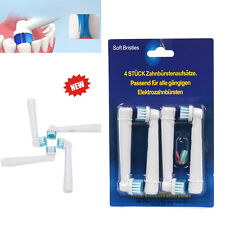 4PCS Electric Tooth Brush Heads Replacements for Braun Oral B Soft Teeth Clean