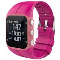 Silicona Pulsera Correa Reloj Banda para Polar M400 M430 GPS Running Watch +Tool