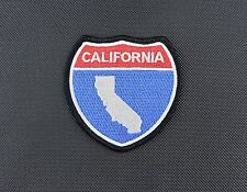 California Interstate Sign Morale Patch Cali CA Freeway Highway CHP VELCRO®