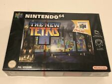 Nintendo 64 N64 The New Tetris Brand New Factory Sealed.