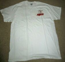 MiLB Kannapolis Intimidators Minor League Baseball White T-Shirt Large