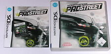 Jeu: need for speed pro street rennspiel Nintendo DS + Lite + DSI + xl + 3ds
