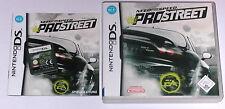 Spiel: NEED FOR SPEED PRO STREET RENNSPIEL Nintendo DS + Lite + Dsi + XL + 3DS