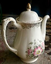 Vintage 1950s Grindley English Porcelain Coffee Pot