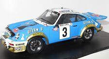 1/18 Porsche 911 Carrera  Gitanes  Winners Monte Carlo Rally 1978  J.P.Nicolas