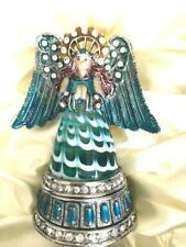 Fitz And Floyd Guild Collection Holiday Angel trinket box