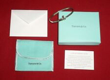Tiffany & Co. Sterling Silver 925 Knot Bangle Bracelet