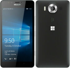 "Unlocked Nokia Microsoft Lumia 950 Single 32GB 5.2"" Smartphone Black"