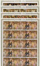 Aitutaki 1975 Weihnachten Gemälde Christmas Paintings Bogensatz Postfrisch MNH