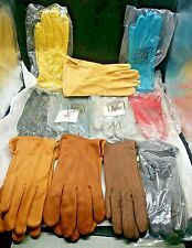 NEW Ladies DEERSKIN GLOVES Luxury Deer Skin Leather MISC COLORS Made in USA