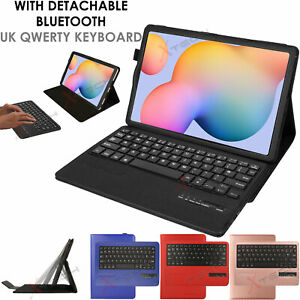 Leather Keyboard Case + Stand for Samsung Galaxy Tab S6 Lite SM-P610 SM-P615