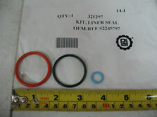 Injector O-Ring Kit for Caterpillar C10 C12. PAI # 321297 Ref. # 2245797 1933325