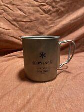 Snow Peak 450 Titanium Cup (Brand New, Never Used)