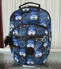 Kipling Star Wars Seoul Backpack Go Small Stormtroopers Bag NWT