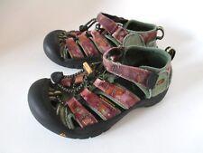 KEEN Boys Girls Whisper Camo Waterproof Summer Sport Hiking Sandals Size 12 US