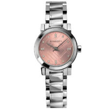 Neuf burberry femme LA CITY rose Diamant Fashion Watch-BU9363-RRP £ 550