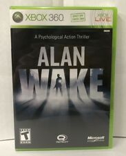 Alan Wake, Microsoft Xbox 360 & Xbox One compatible, NEW, Factory Sealed