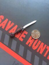 Crozz Design Savage Hunter Predator 2 Harrigan antique dague loose échelle 1/6th