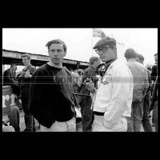 Photo A.014685 JIM CLARK & MASTEN GREGORY PILOTES GRAND PRIX F1 RACING DRIVERS