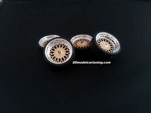 1:18 Scale BBS RS 19 INCH TUNING WHEELS, Wheellogos are now included!