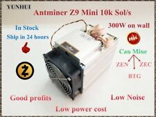 Bitmain Antminer Z9 Mini Batch-1 / 16 kSol/s 300W Equihash ASIC Miner with PSU