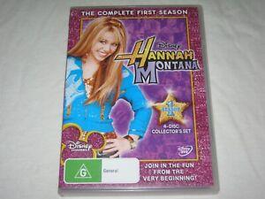 Hannah Montana - Complete Season 1 - 4 Disc Set - VGC - Region 4 - DVD