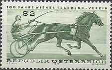 Timbre Chevaux Autriche 1255 ** lot 26251
