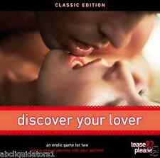 NEW! Discover Your Lover - An Erotic Game for Two (18+) For Adults NEW IN BOX