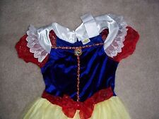 GIRLS CLASSIC SNOW WHITE DRESS 7 - 10 HALLOWEEN / DRESS UP COSTUME - USED