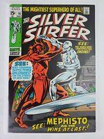 Silver Surfer #16 Marvel Comics 1970 Silver Surfer vs. Mephisto