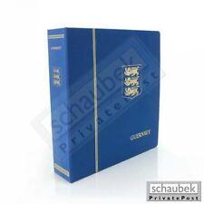 Schaubek KOA-851/01B Album Guernsey 1958-1989 Brillant im geprägten Leinen-Schra