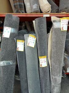 Clearance Carpet   Grey Choice 7-10-12mm Thick Room Landing Grade Cheap Carpets