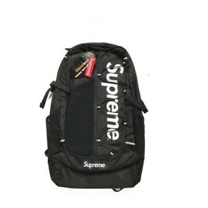 2021 NEW Supreme 17ss Backpack Waterproof Box Logo Mountaineering Bags Travel .