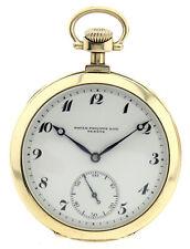 Patek Philippe für Louis Schwartz Odessa,offene Herren Taschenuhr 585 Gold Ø51mm