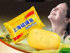 Shanghai sulfur soap oil-control acne treatment blackhead remover soap 90g White