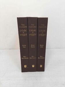 The Complete Calvin and Hobbes Box Set - Hard Cover - First Edition