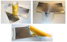 122,50 €/m² Hitzeschutzfolie 20cm x 40cm Hitzescutz 800°C 1,8mm selbstklebend