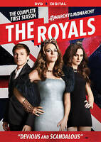 The Royals: Season 1 DVD 3-Disc Set WITH CASE & COVER ARTWORK BUY 2 GET 1 FREE