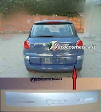 Modanatura Battivaligia acciaio satinato/cromo paraurto Per Fiat 500L 17>