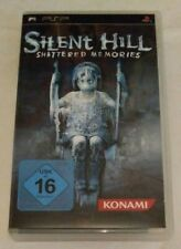 Silent Hill: Shattered Memories (Sony PSP, 2010) German Inlay Manual Complete