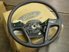 OEM Ford 1989 1993 Thunderbird Leather Wrapped Steering Wheel 1990 1991 1992 nos