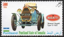 1922 BUGATTI BRESCIA Type 13 Sports Car Automobile Stamp